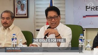 Department of Labor and Employment Silvestre Bello stressed that the OFW ID is for free since the recruitment agencies and the...