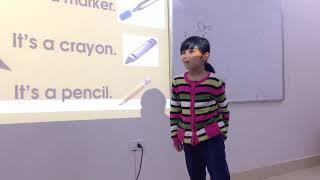 Nancy - Hoàng Nga (6 years old) - Sydney 2 - APUS ENGLISH