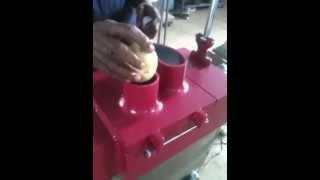 Potato Chips Cutting Machine.MOV
