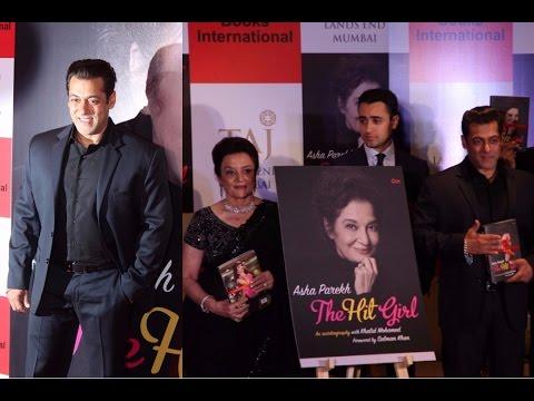 Salman Khan launched Asha Parekh's Autobiography 'The Hit Girl'