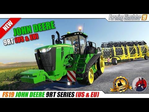 John Deere 9RT Series Tractors (US & EU) v1.0