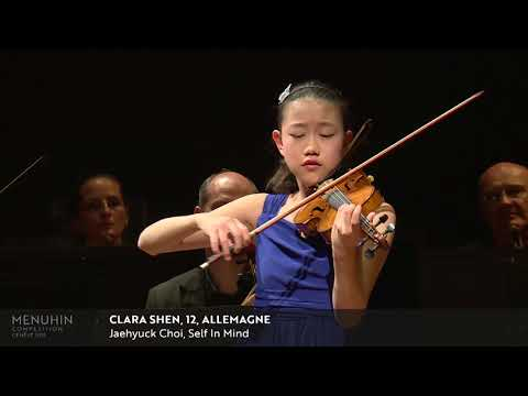 Menuhin Competition 2018, Junior Finals