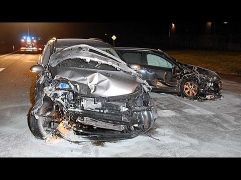Korbach: Drei Verletzte bei Unfall auf Umgehung