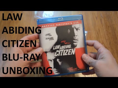Unboxing Law Abiding Citizen Unrated Director's Cut Blu-Ray