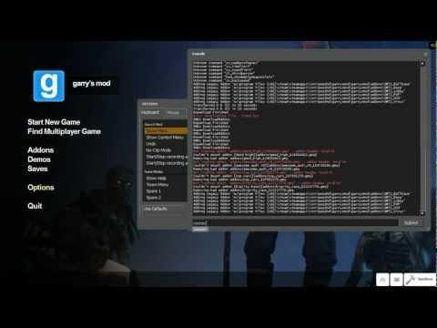 Как создать сервер garry's mod steam