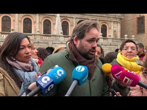 Concentración repulsa violencia de género Toledo...