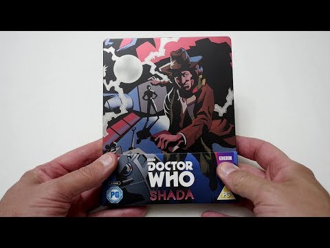 Doctor Who  Shada Limited Edition Steelbook Blu Ray - Unboxing