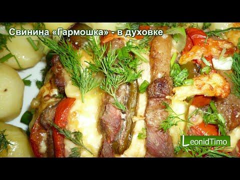 Как запечь свинину с грибами в духовке рецепт с