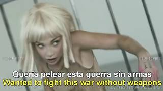 Video Sia -  Elastic Heart [Lyrics English - Subtitulado Español] MP3, 3GP, MP4, WEBM, AVI, FLV Mei 2018