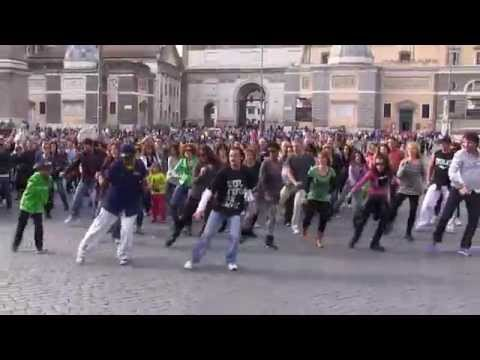 Happy Flash Mob Roma 6 aprile 2014