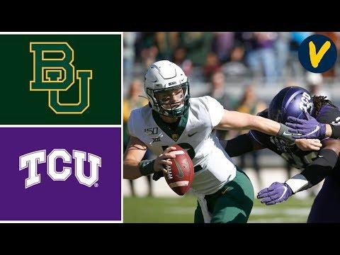 #12 Baylor vs TCU Highlights | Week 11 | College Football 2019