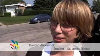 Team New Zealand visits St James School