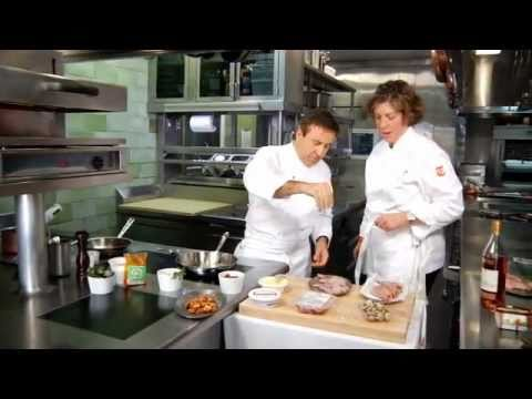 Cooking Quail With Chef Daniel Boulud And Ariane Daguin