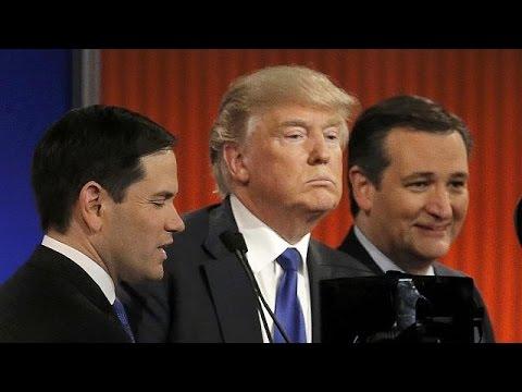 «Σκληρό ροκ» στο debate των Ρεπουμπλικανών – Πυρ ομαδόν κατά Τραμπ