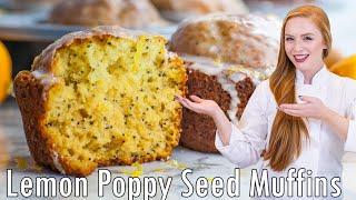 Lemon Poppy Seed Muffins by Tatyana's Everyday Food