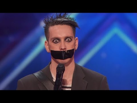 America's Got Talent - Tape Face All Acts