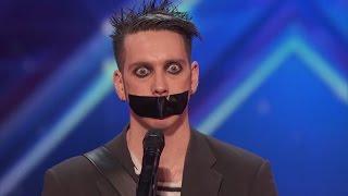 Video America's Got Talent - Tape Face All Acts MP3, 3GP, MP4, WEBM, AVI, FLV Agustus 2017