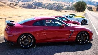 Behind the Scenes of Motor Trend's 2013 Best Driver's Car Competition! The J-Turn Ep. 14