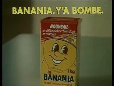 Plaque « banania morvan chocolat »30*40 cm