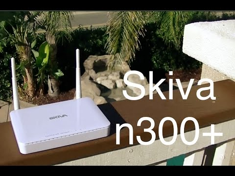 Skiva n300+ Wireless Router Review