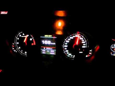 audi rs4 raggiunge i 290 km/h !