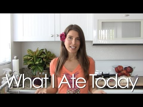 What I Ate Today on an All Raw Diet