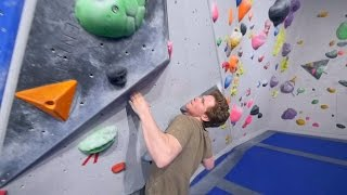 Taking Åke To School On This New V9, Bouldering Glory! by Eric Karlsson Bouldering