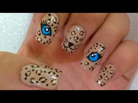 Videos de uñas - Decoracion De Uñas Leopardo - Animal Print - UÑAS PARA TODAS