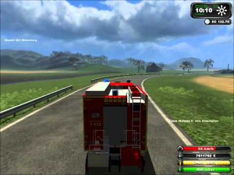 [Ls] Landwirtschaftssimulator 2011 Feuerwehreinsatz by deinemudder13579