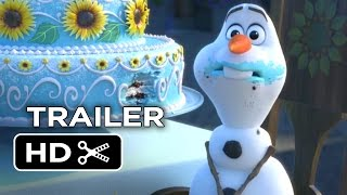 Nonton Frozen Fever Official Trailer  1  2015    Disney Animated Short Film Hd Film Subtitle Indonesia Streaming Movie Download