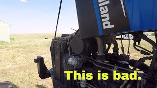 1. The first New Holland service problems