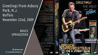 Bruce Springsteen | Greetings From Asbury Park, N.J. - Buffalo - 22/11/2009