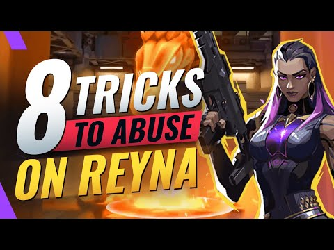 8 BEST Tips To SOLO Hard Carry as Reyna - Valorant