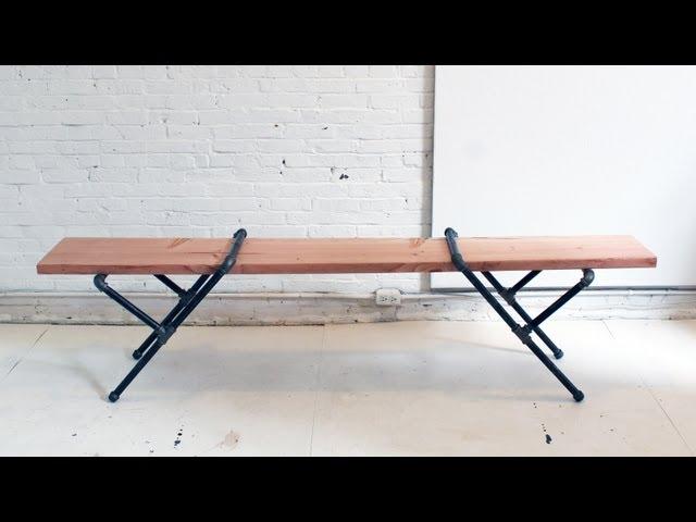 【ベンチDIY】モダンな3人掛けガーデンベンチが簡単に作れる!?