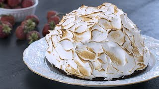 Baked Alaska Recipe by Home Cooking Adventure