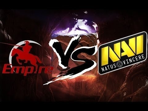 Dota 2 The International 2014 NaVi vs Empire [Лучшие моменты]
