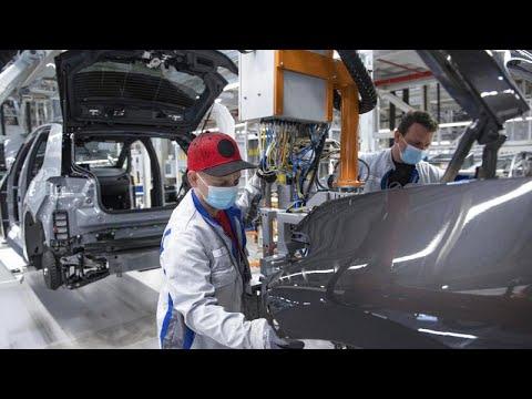Deutschland: Bei VW laufen die Bänder wieder an