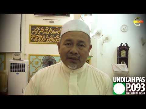 #PRKSungaiBesar : Turun Mengundi Untuk Menyampaikan Mesej Kepada BN - Dato' Tuan Ibrahim Tuan Man