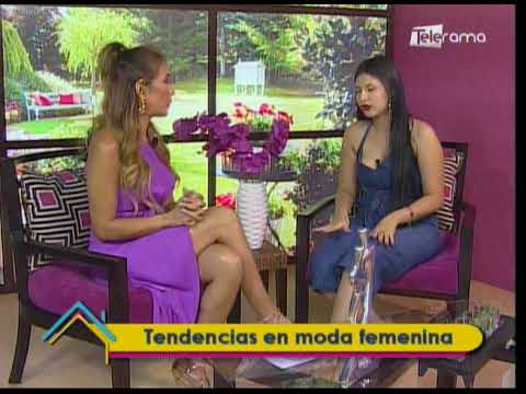 Tendencias en moda femenina