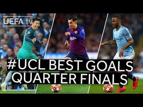 SON, COUTINHO, STERLING: #UCL BEST GOALS, QUARTER-FINALS