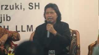 """Video Diskusi dan Peluncuran Buku Mahfud MD """"Terus Mengalir"""" - 4 Maret 2013, Mahkamah Konstitusi Jakarta MP3, 3GP, MP4, WEBM, AVI, FLV Mei 2018"""