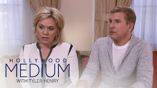 "Tyler Henry gets a strong message from Julie Chrisley's brother about their father. See the touching message on ""Hollywood Medium"".SUBSCRIBE: http://bit.ly/EentsubConnect with the Hollywood Medium:Visit the Hollywood Medium WEBSITE: http://www.eonline.com/shows/hollywood_mediumWatch the Hollywood Medium Full Episode: http://www.eonline.com/now/hollywood-medium-with-tyler-henry  Like Hollywood Medium on FACEBOOK: https://www.facebook.com/hollywoodmediumwithtylerhenry/Follow Hollywood Medium on TWITTER: https://twitter.com/hollywoodmediumAbout E! Entertainment:E! is on the Pulse of Pop Culture, bringing fans the very best original content including reality series, scripted programming, exclusive specials, breaking entertainment news, streaming events and more. Passionate viewers can't get enough of our Pop Culture hits including """"Keeping Up with the Kardashians,"" ""Fashion Police,"" ""The Royals,"" """"Total Divas"" and ""Botched."" And with new original programming on the way, fans have even more to love.Connect with E! Entertainment:Visit the E! WEBSITE: http://eonli.ne/1iX6d8n Like E! on FACEBOOK: http://eonli.ne/facebookCheck out E! on INSTAGRAM: http://eonli.ne/IGFollow E! on TWITTER: http://eonli.ne/twitterFollow E! on Spotify: http://eonli.ne/spotifyTodd and Julie Chrisley Get Message From Late Brother  Hollywood Medium with Tyler Henry  E!http://www.youtube.com/user/Eentertainment"