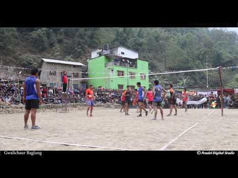 (बुर्तिबाङ्ग vs असारे, ग्वालिचौरमा भलिबल घम्सा घम्सी    Volleyball Game at Gwalichaur - Duration: 34 minutes.)