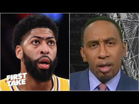 People are looking at Anthony Davis with a raised eyebrow - Stephen A.   First Take