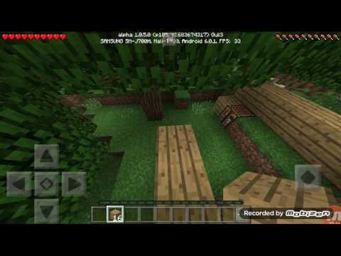 Выживания в Minecraft pE  #1