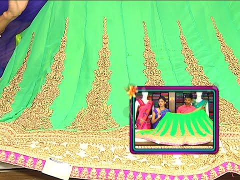 Latest Pattu and All Varieties of Fancy Designer Sarees | Sogasu Chuda Tarama | Vanitha TV 30 September 2015 11 29 AM