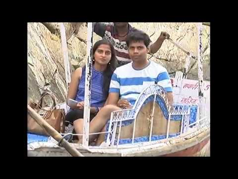 Video Boating in marble rock canyon of river Narmada at Bhedaghat near Jabalpur download in MP3, 3GP, MP4, WEBM, AVI, FLV January 2017