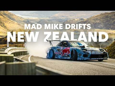 Drift session de Mad Mike à Crown Range
