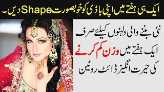 """Weight Loss Diet Plan in a Week & Lose Weight Fast Tips - What are Calories Urdu Hindi.______________________________________________________MORE VIDEOS ON WEIGHT LOSS:▶ Top 10 Weight Loss Hacks,https://www.youtube.com/watch?v=cfqYVVo5FYc▶ Ramadan Weight Loss Diet Planhttps://www.youtube.com/watch?v=9t2SPhM7IwE▶ Lose Body Weight a Part or Whole Body with Homemade Green Teahttps://www.youtube.com/watch?v=7jRD7J7GGuo▶ 2017 Mein Motapa (Obesity) Kam Karne Ke 8 New Totkayhttps://www.youtube.com/watch?v=BfA4-qMB7mk▶ Motapa Kam Karne Ka Tarika aur Ilajhttps://www.youtube.com/watch?v=7-90Ea0V-Vo▶ Complete Playlist of Weight Loss Videos:https://goo.gl/4sK2km___________________________________________________________Remove Dark Circles:https://www.youtube.com/watch?v=jGTreuNrfDQRemove Sun Tanning:https://www.youtube.com/watch?v=Oha3hBweyyQSkin Whitening and Sun Block Cream:https://www.youtube.com/watch?v=q5EbUww5C_0_____________________________________________________________I'm ♥ Memoona Muslima ♥ and a student of naturopathic, home economics, cookery and other aspects of household management.★ Naturopathy or naturopathic medicine is a form of alternative medicine employing a wide array of """"natural"""" treatments,  ★including homeopathy, herbalism, and acupuncture, as well as diet (nutrition) and lifestyle counseling.♥ My channel is about Health Care, Health Tips, and Beauty Tips, I was the best student in home remedies during school. ♥My goals are to those women or female students who are not familiar with simple remedies and treatment with fruits and vegetables.______________________________________________________Also, Check More Videos Related Face Masks for Skin Whitening▶ Get Pink & Soft Lips Naturally Fast ★https://youtu.be/klJ0FXxQ0jk▶ Puffy Eyes ★https://youtu.be/PpPZ7iKsVc4▶ Lose Body Weight ★https://youtu.be/7jRD7J7GGuo▶ Pigmentation ★https://youtu.be/GXSLG-m-VCk▶ Homemade Skin Whitening & Lightening Fairness Night Cream ★https://youtu.be/q5EbUww5C_0▶ Men's and Boy'"""