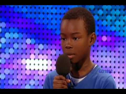 listen - 9-YR-OLD BOY 'MALAKI PAUL SINGS 'BEYONCE'S' 'LISTEN' ON BRITAIN'S GOT TALENT.